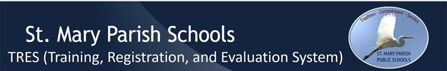 TRES (Training, registration, and Evaluation System) logo