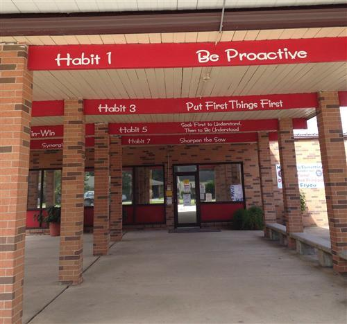 Hattie Watts entrance right view of 7 habits