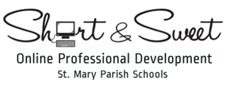 Short & Sweet Online Professional Development